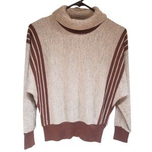 Rodier Paris Turtleneck Wool Blend Sweater